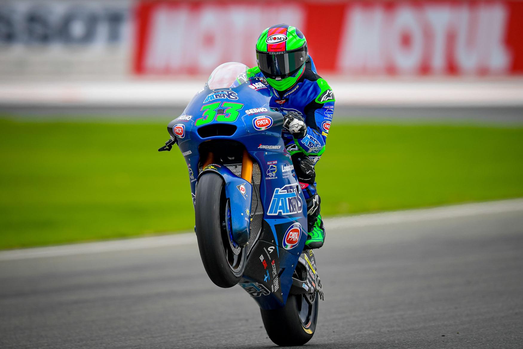 Enea Bastianini w Moto2