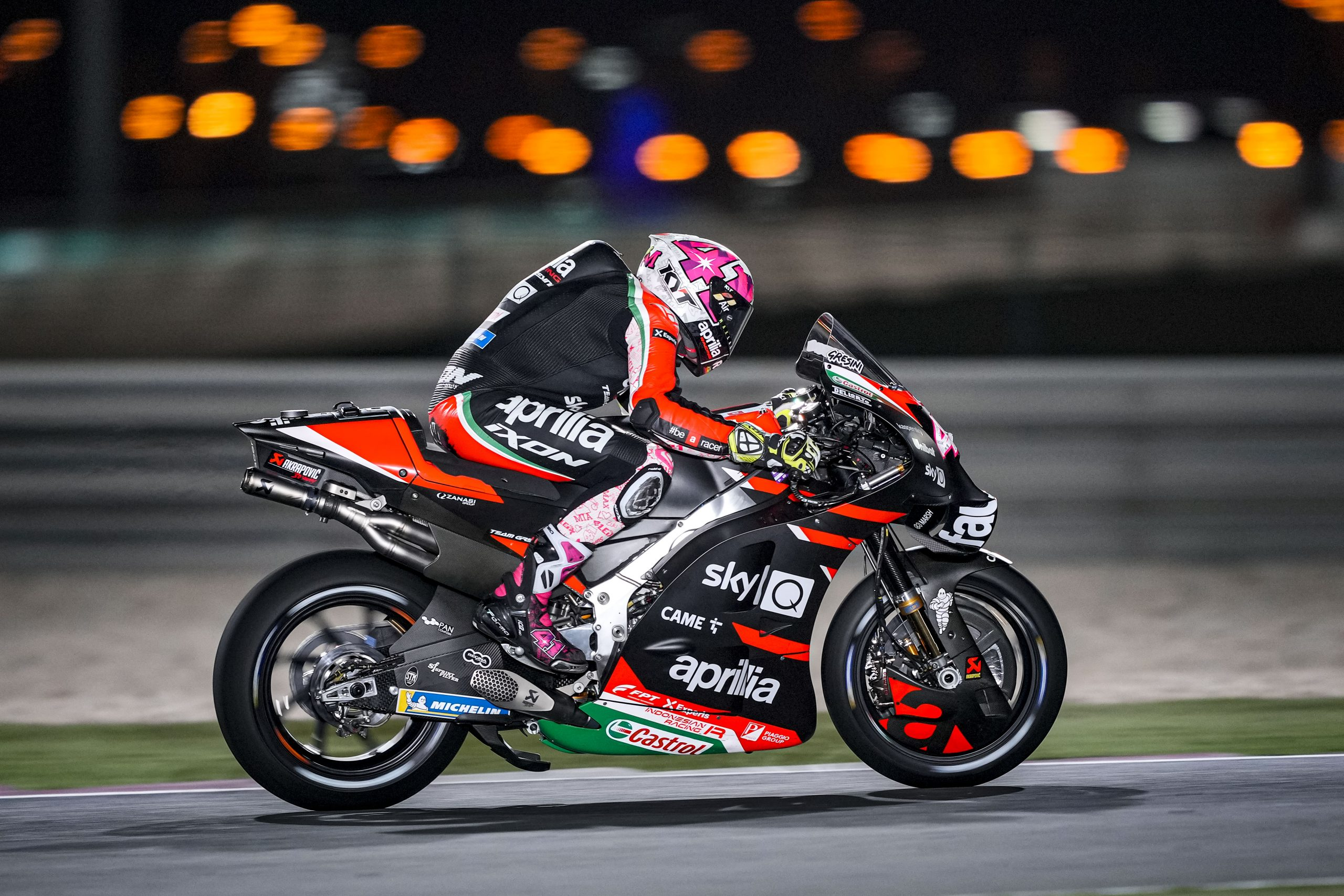 Aleix Espargaro zaimponował podczas GP Kataru 2021