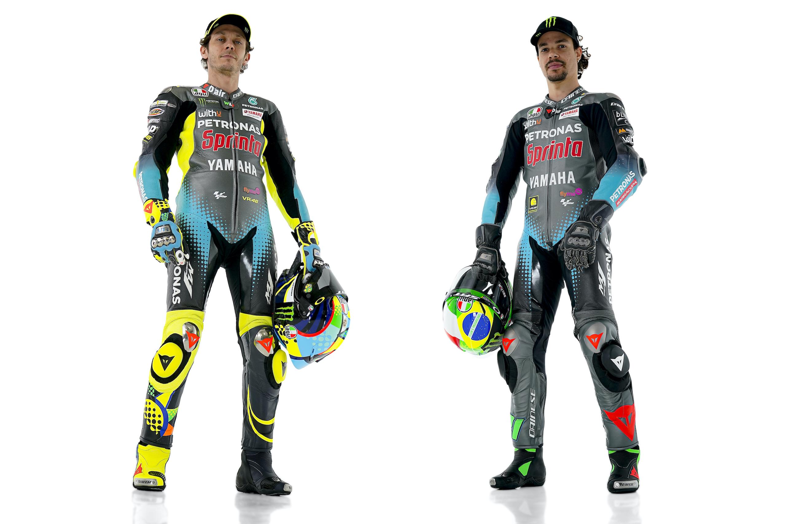 Valentino Rossi i Franco Morbidelli