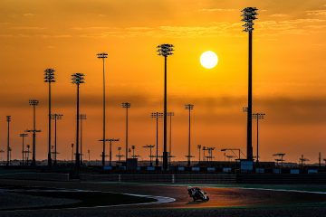 Aprilia podczas testów w Katarze