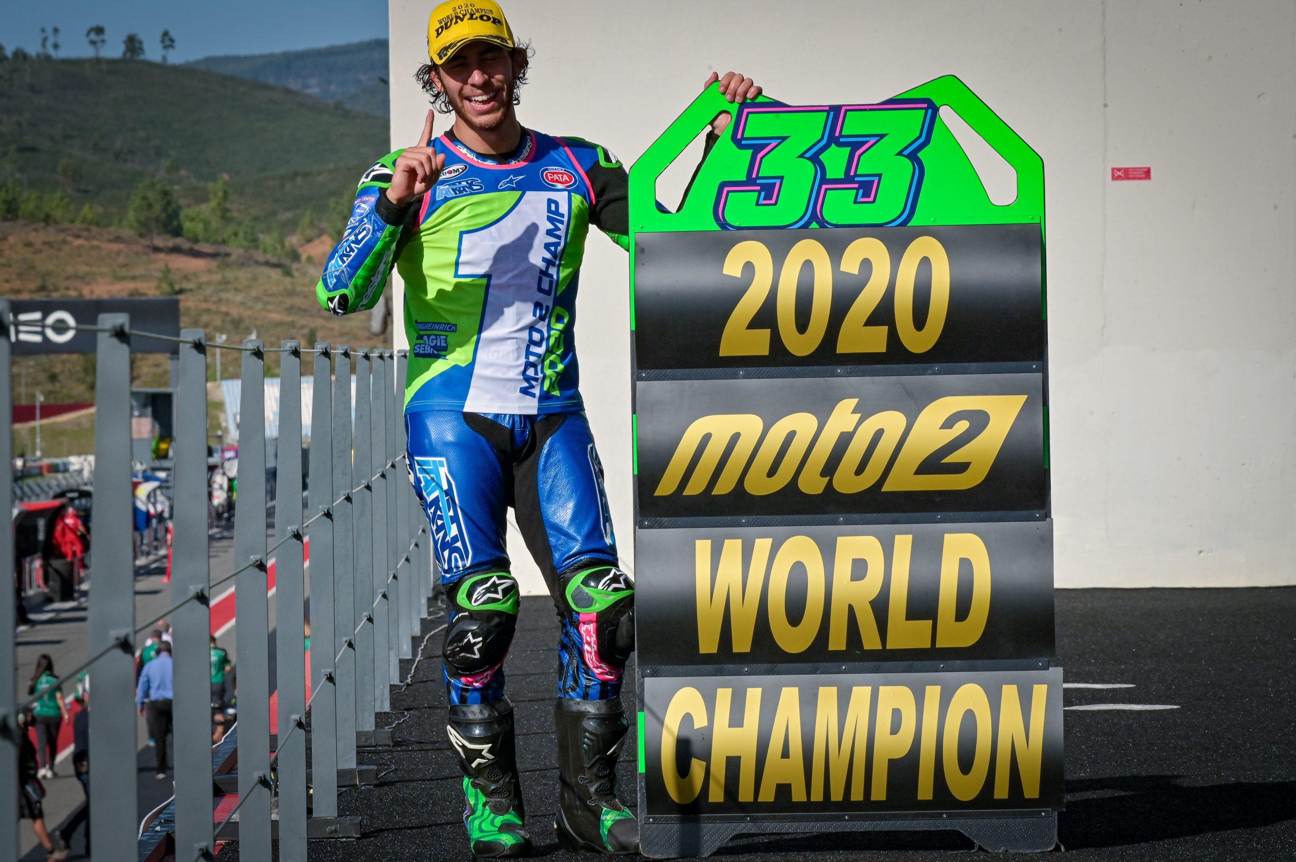 Enea Bastianini – mistrz świata Moto2 w sezonie 2020