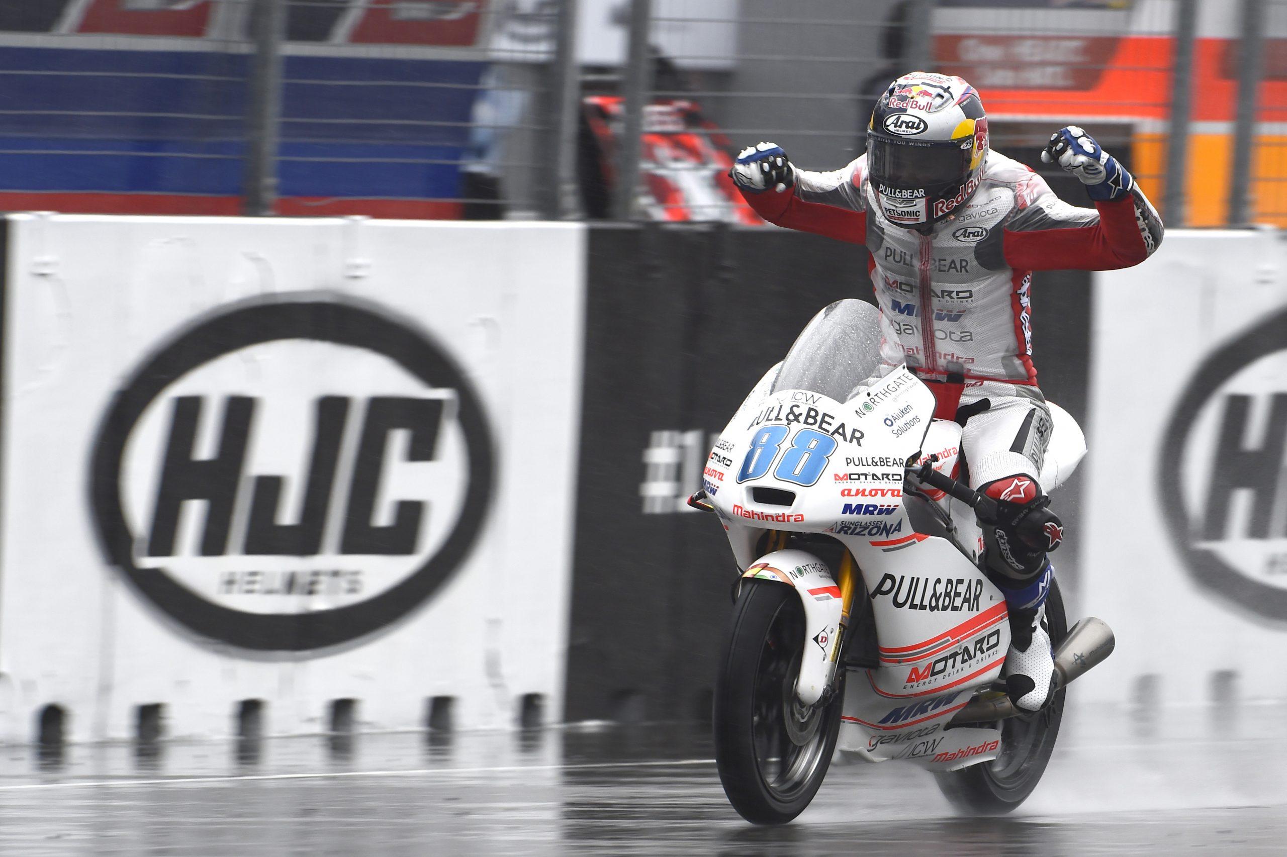 Jorge Martin – pierwsze podium w Moto3, GP Czech 2016