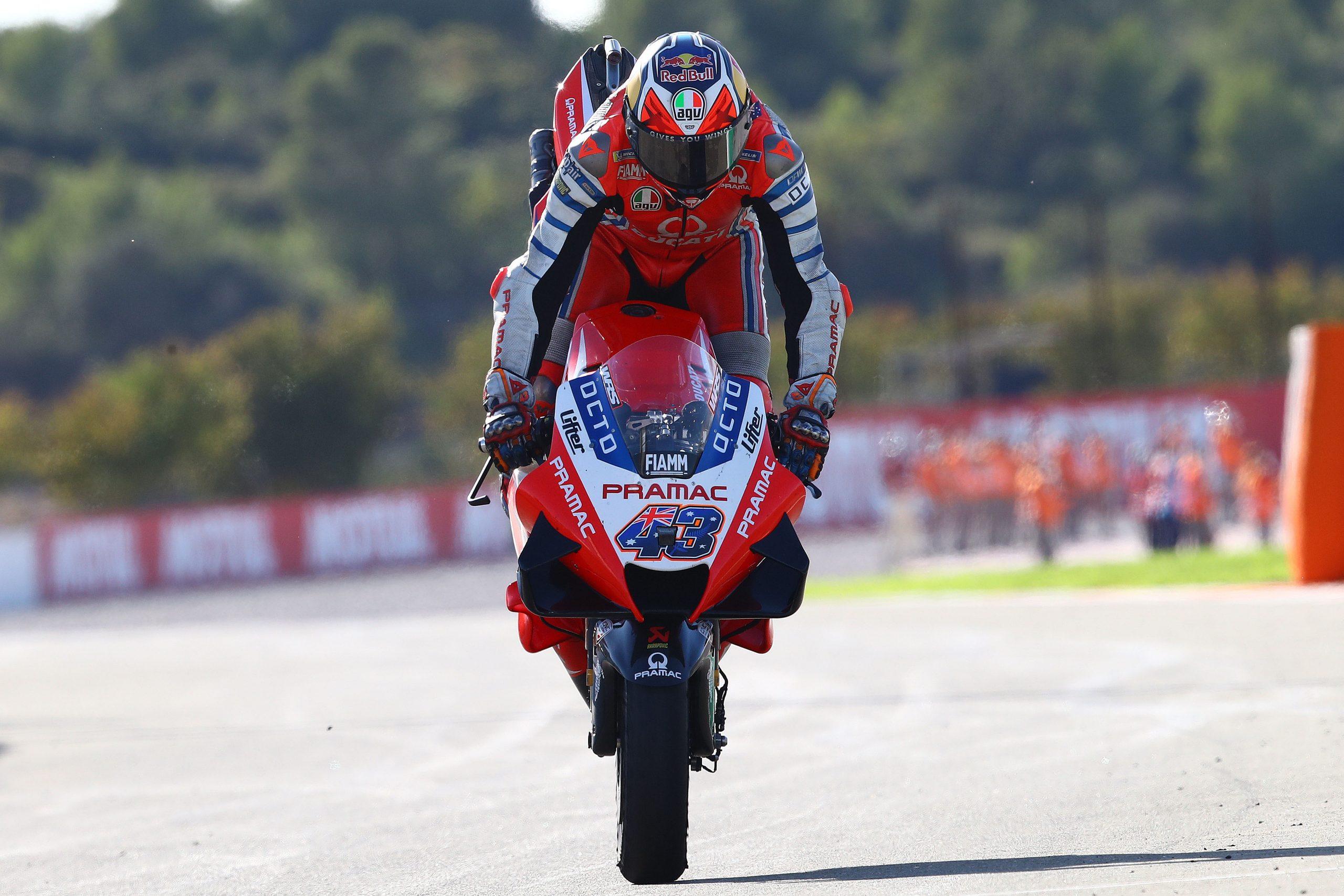 Jack Miller – stoppie po GP Walencji 2020