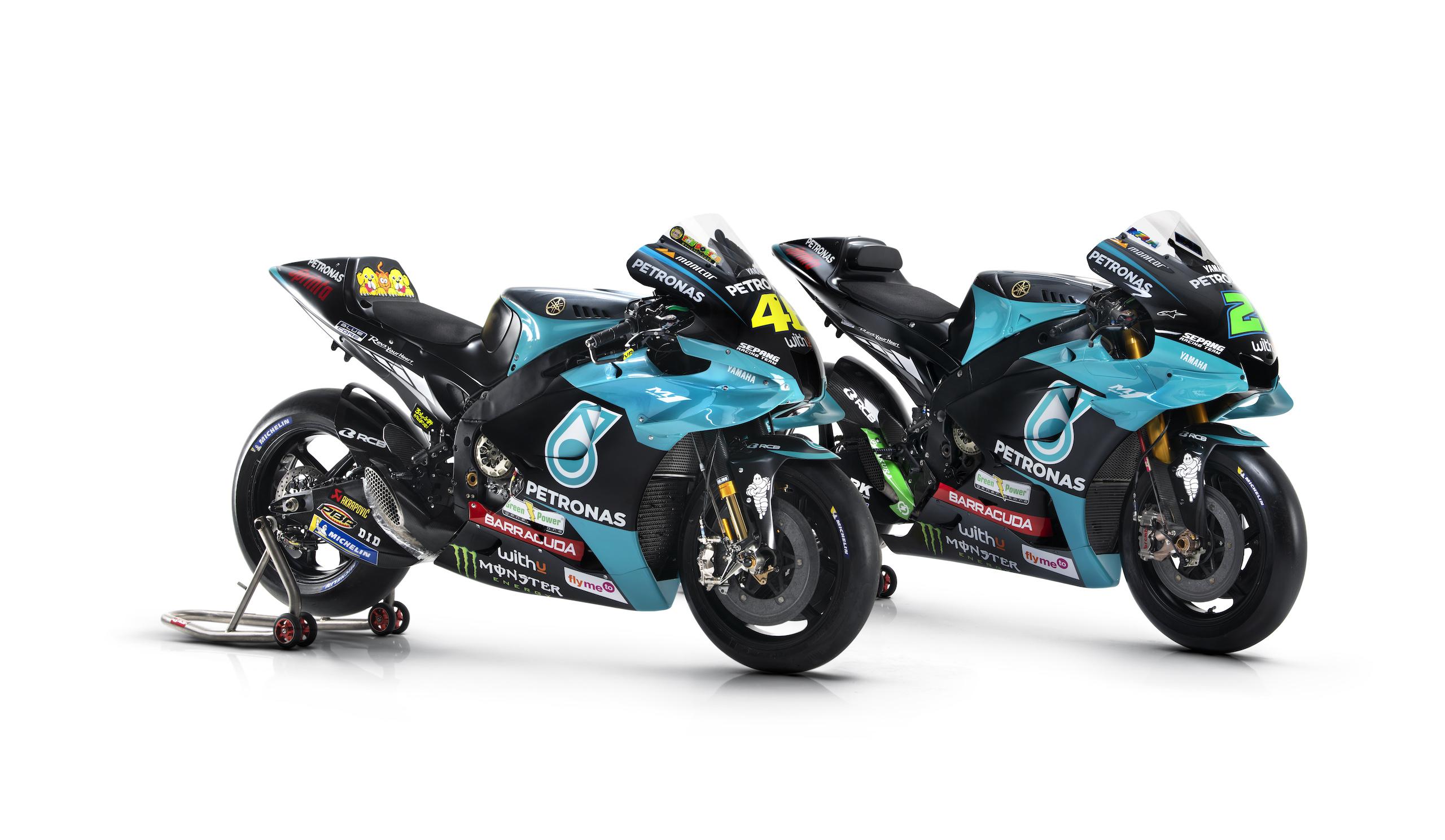 Yamaha M1 ekipy Petronas Yamaha SRT