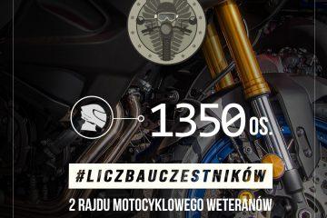 Rajd Motocyklowy Weteranów – uczestnicy 2021