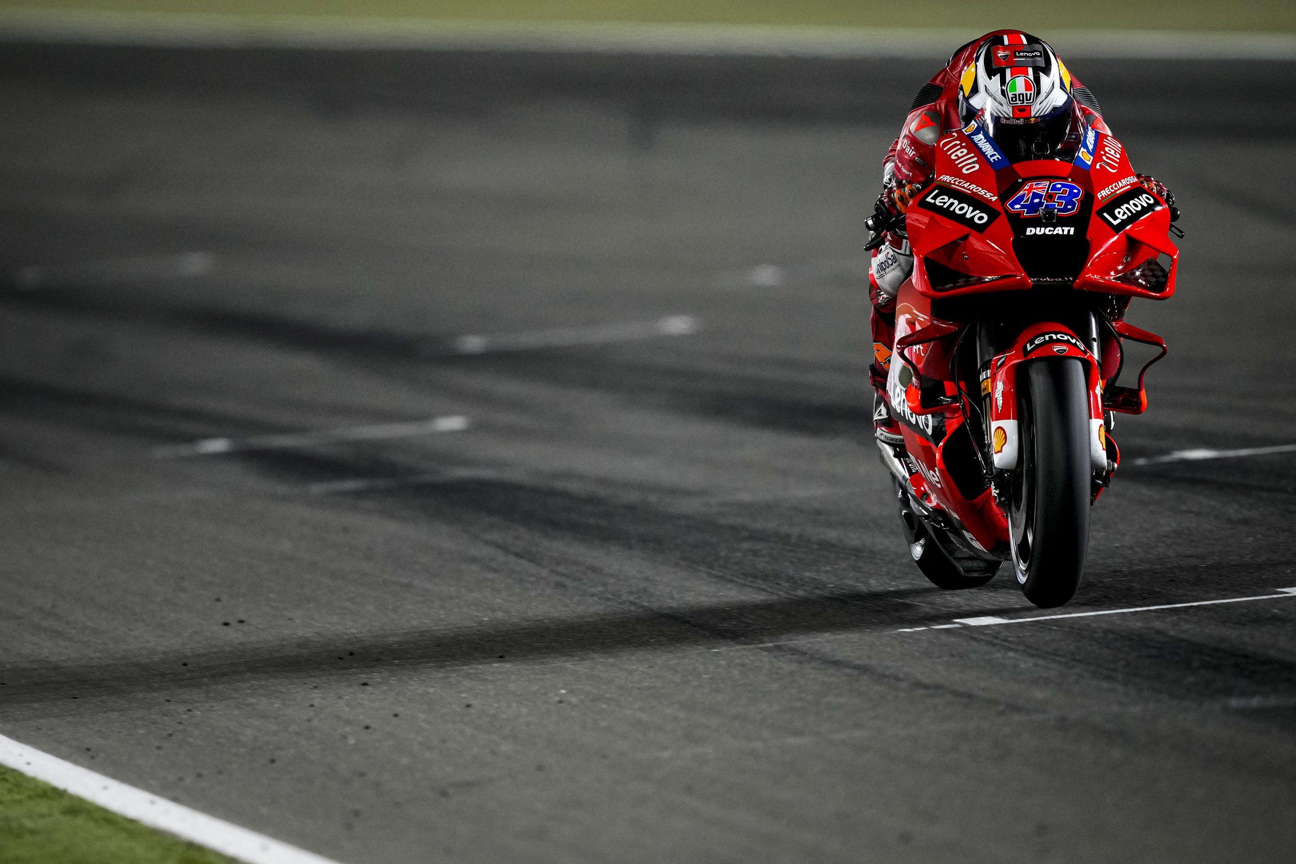Jack Miller w akcji podczas MotoGP w Katarze