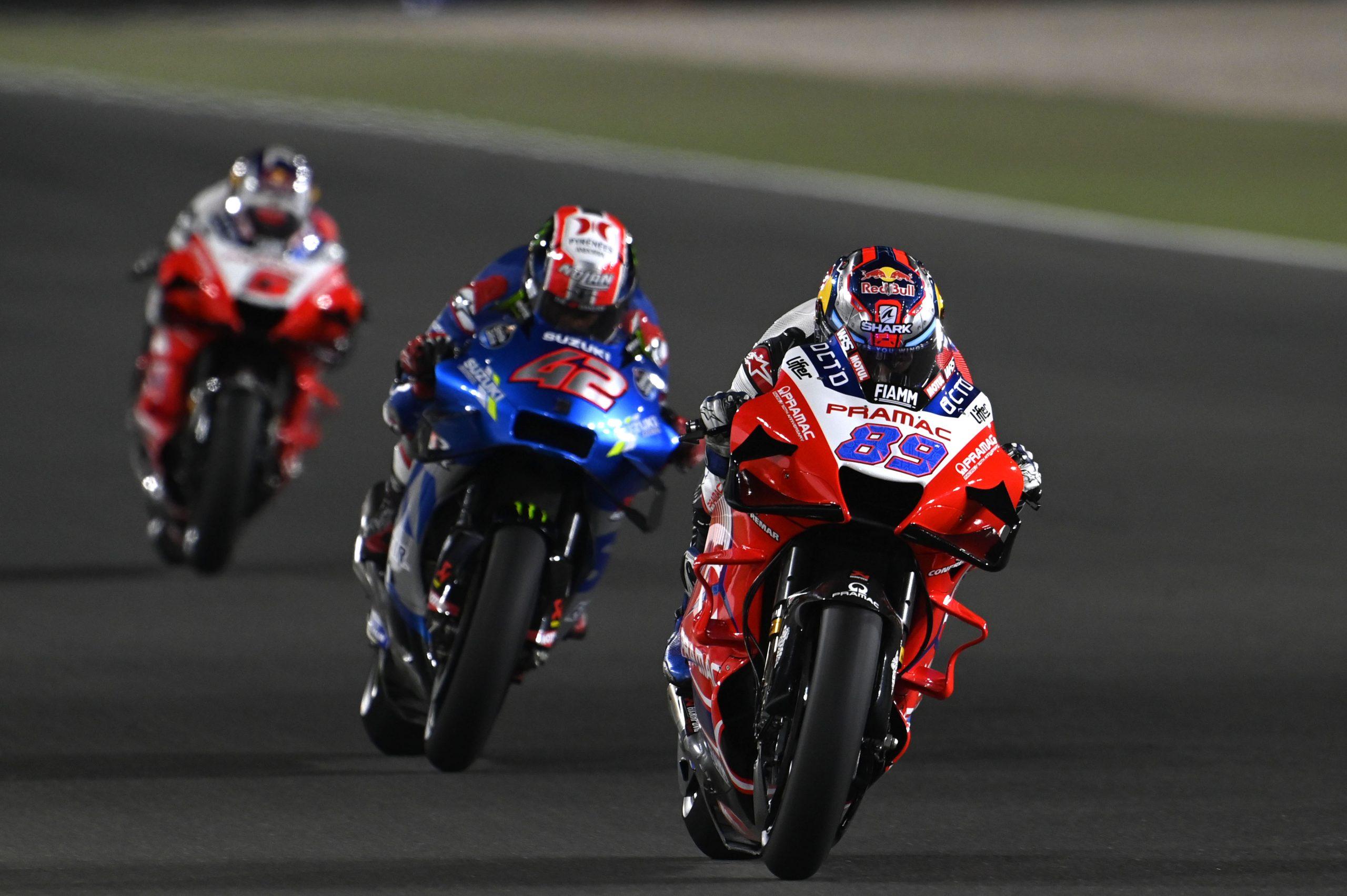 Jorge Martin na czele wyścigu MotoGP o GP Dohy 2021