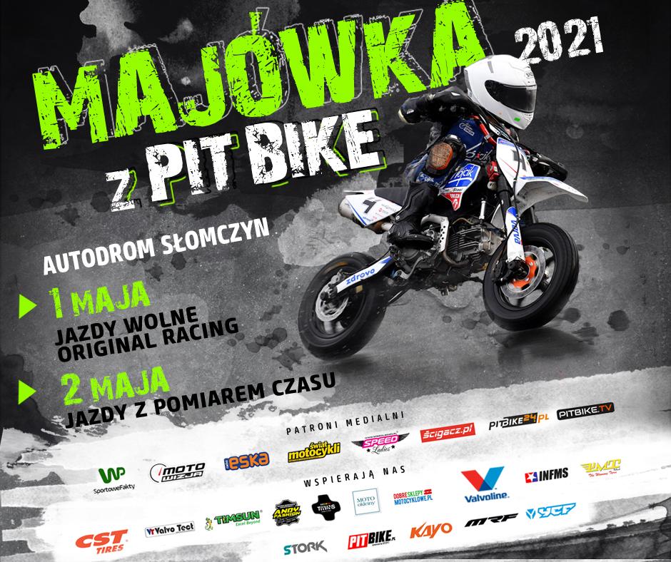 Majówka z Pit Bike 2021