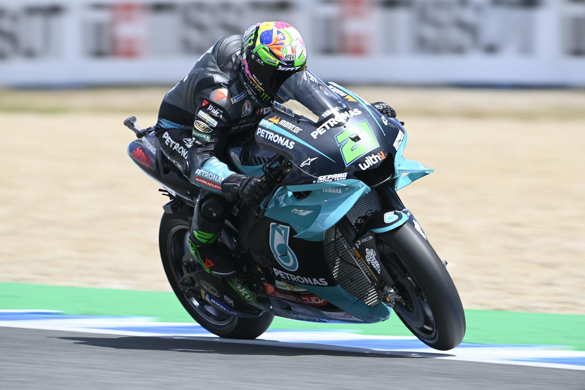 Franco Morbidelli w Jerez