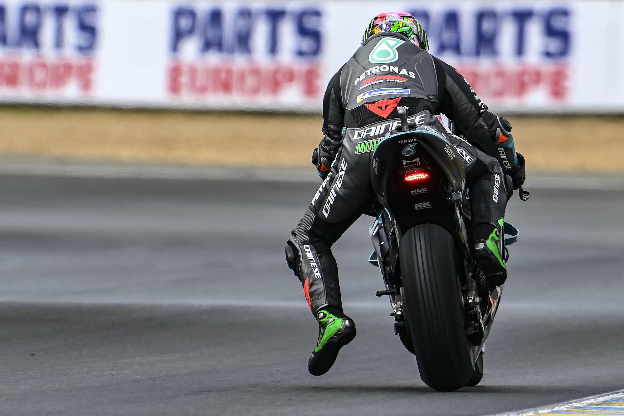 Franco Morbidelli podczas GP Francji 2021