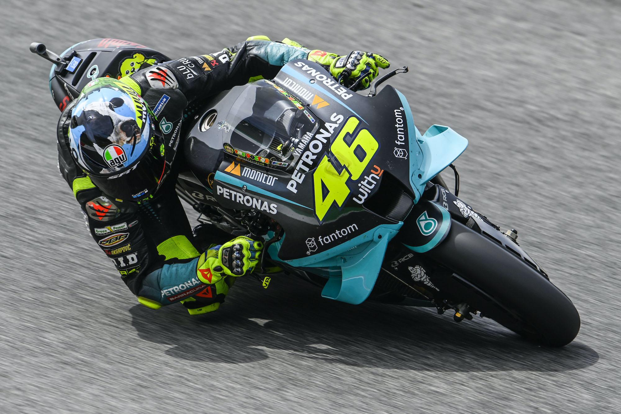 Valentino Rossi na Mugello