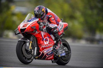 Johann Zarco w akcji na Le Mans podczas GP Francji 2021