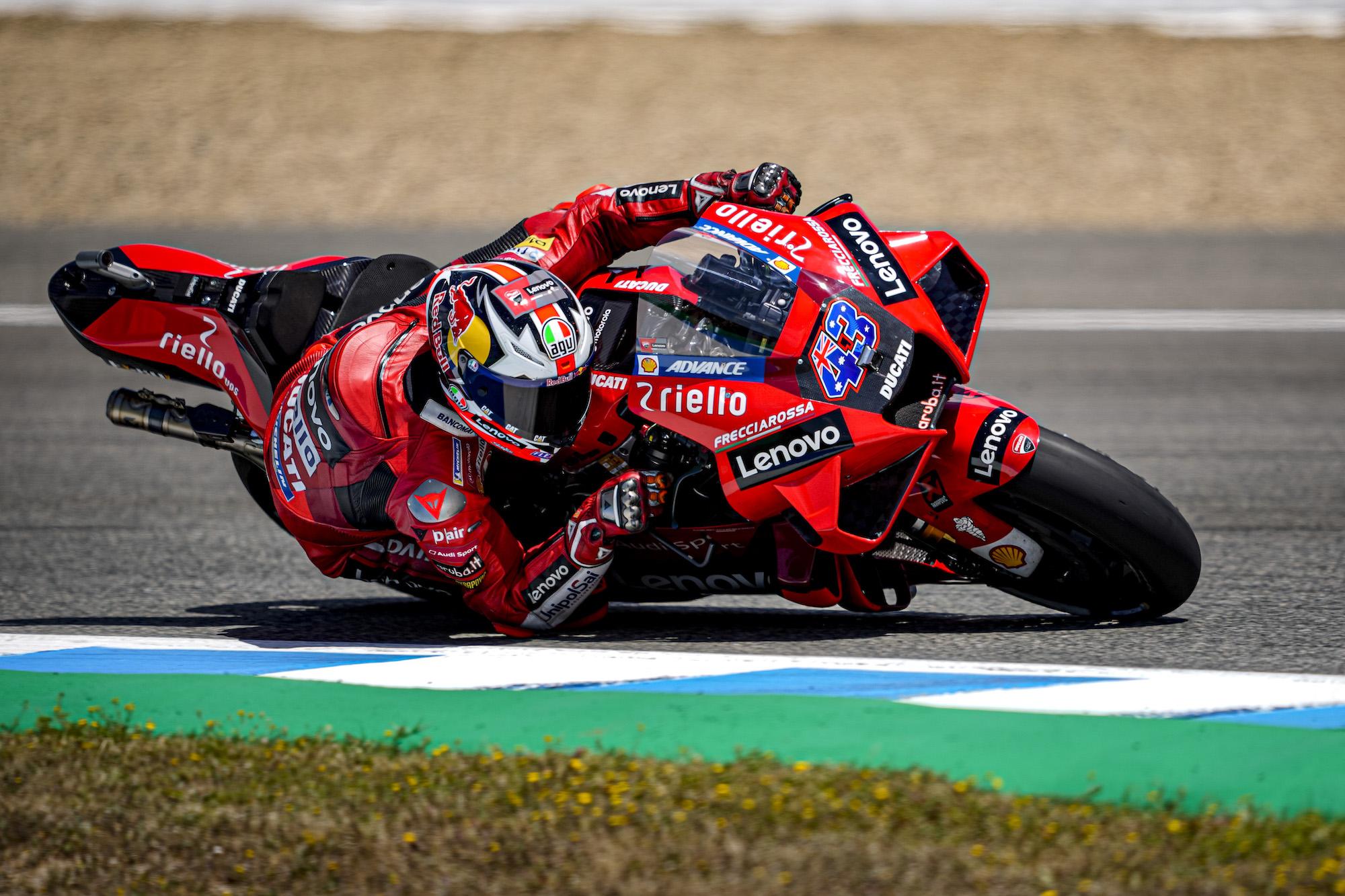 Jack Miller wygrywa w Jerez