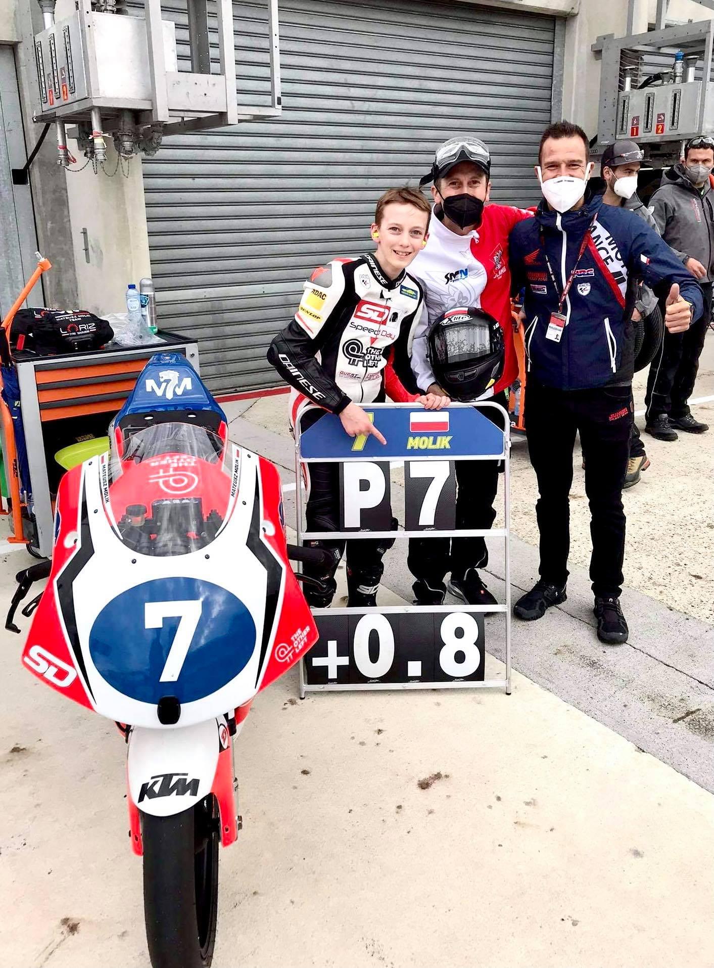 Mateusz Molik w Le Mans