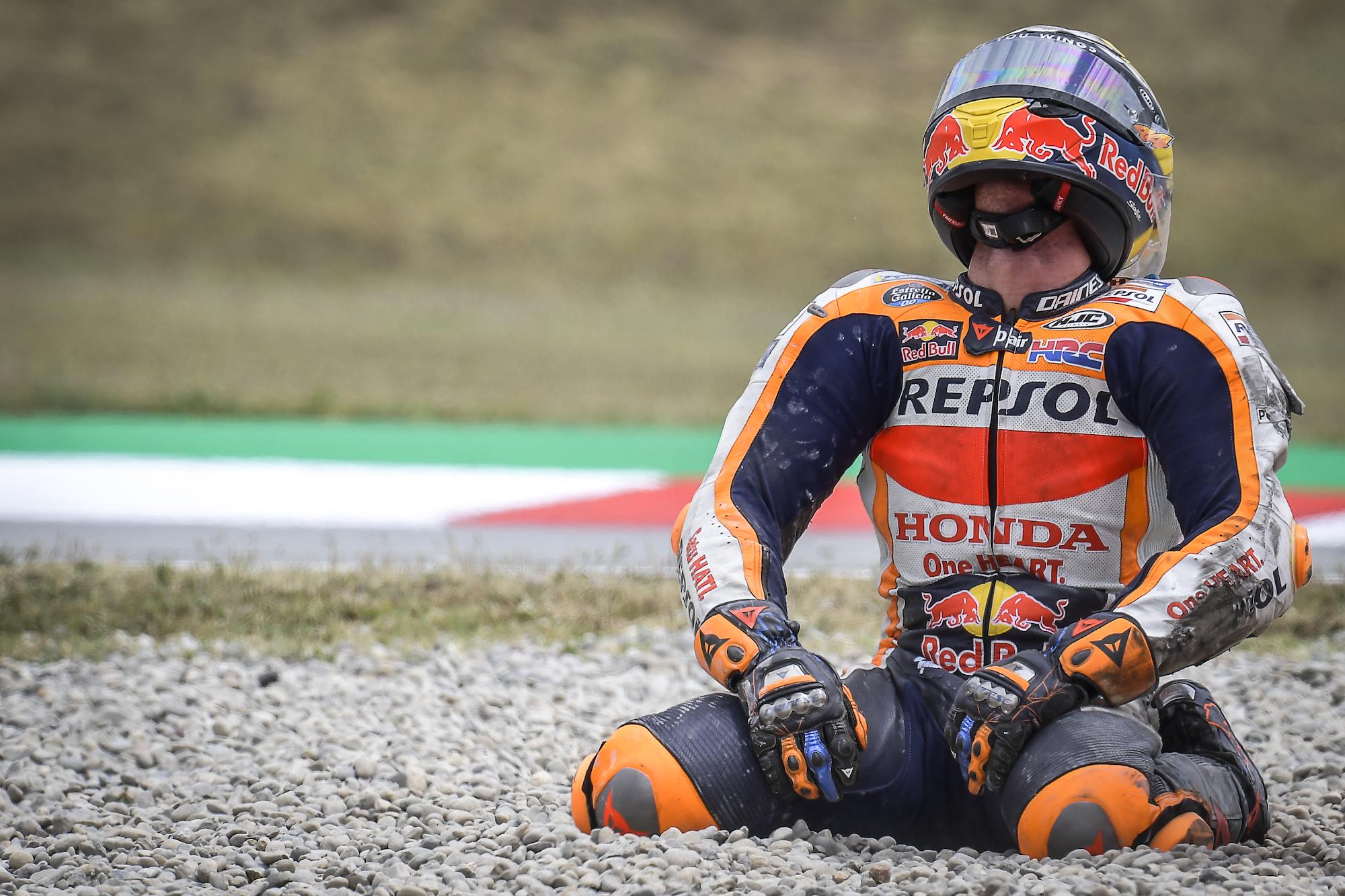 Pol Espargaro podczas GP Katalonii 2021