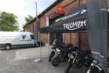 Triumph Demo Trip 2021 Szczecin