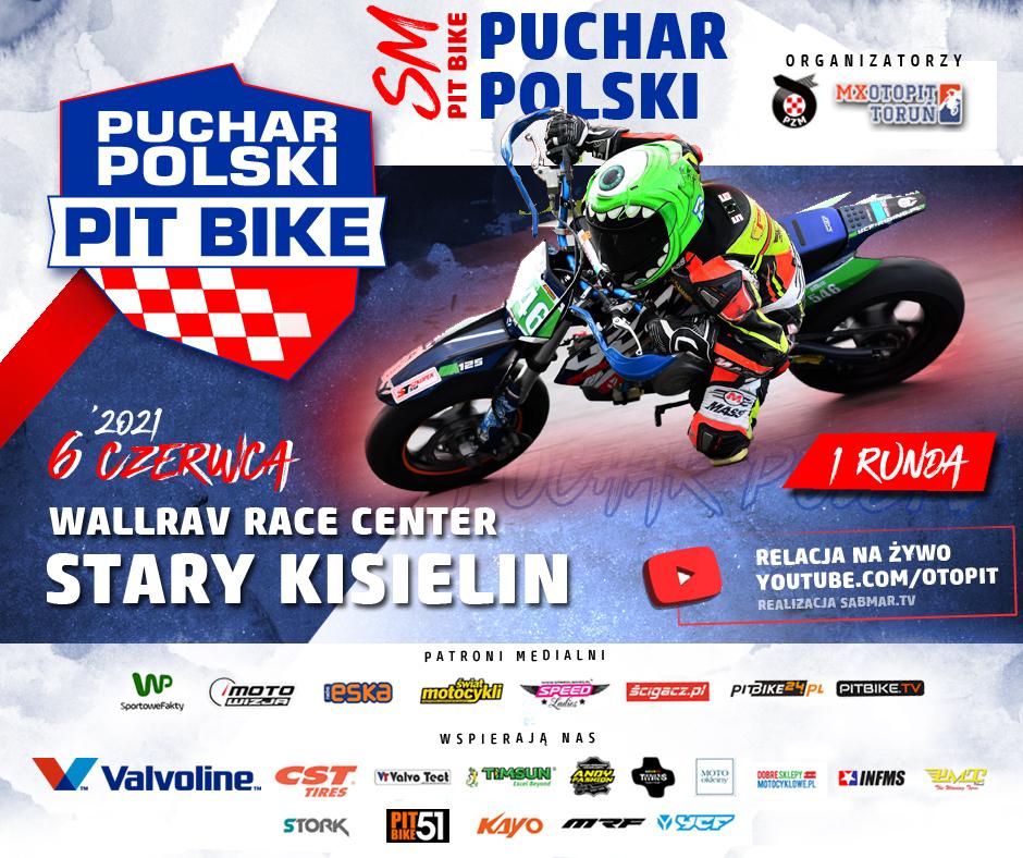 Plakat Puchar Polski Pit Bike