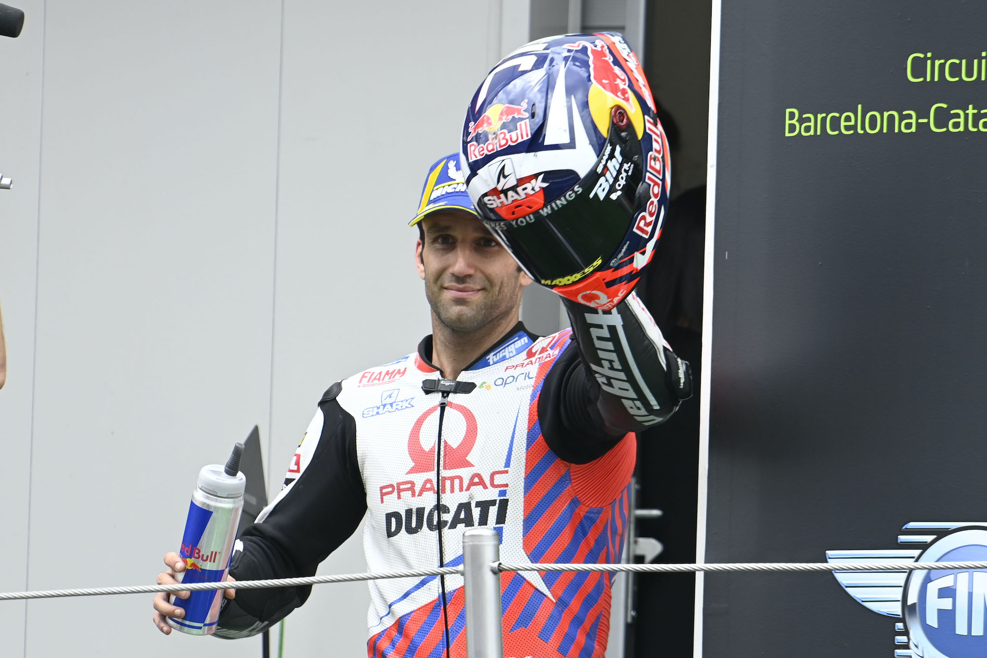 Johann Zarco podczas GP Katalonii 2021