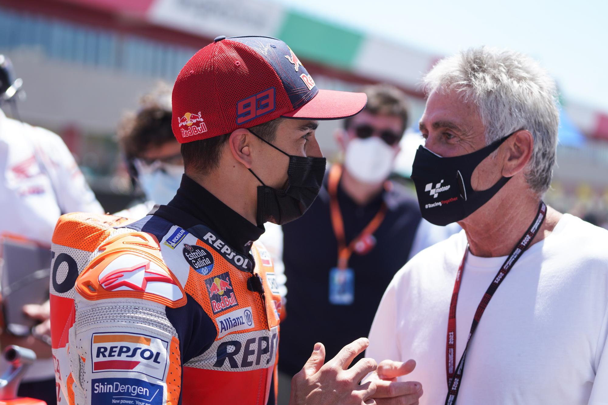 Marc Marquez i Mick Doohan