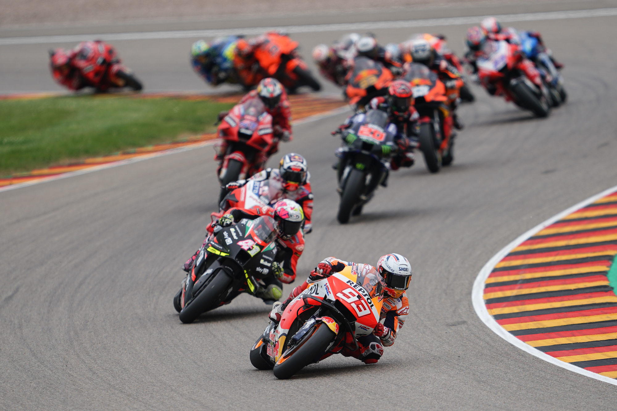 Marc Marquez na czele w MotoGP