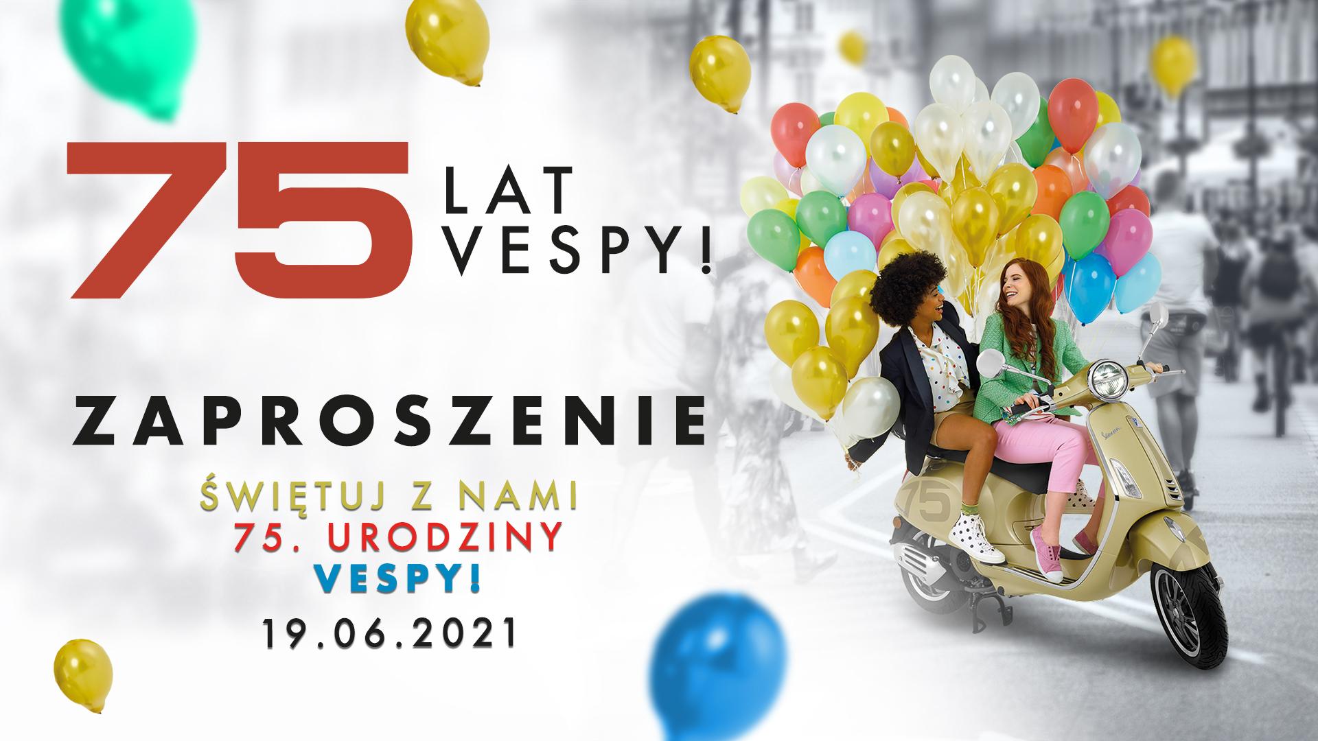 75 lat Vespy - urodziny
