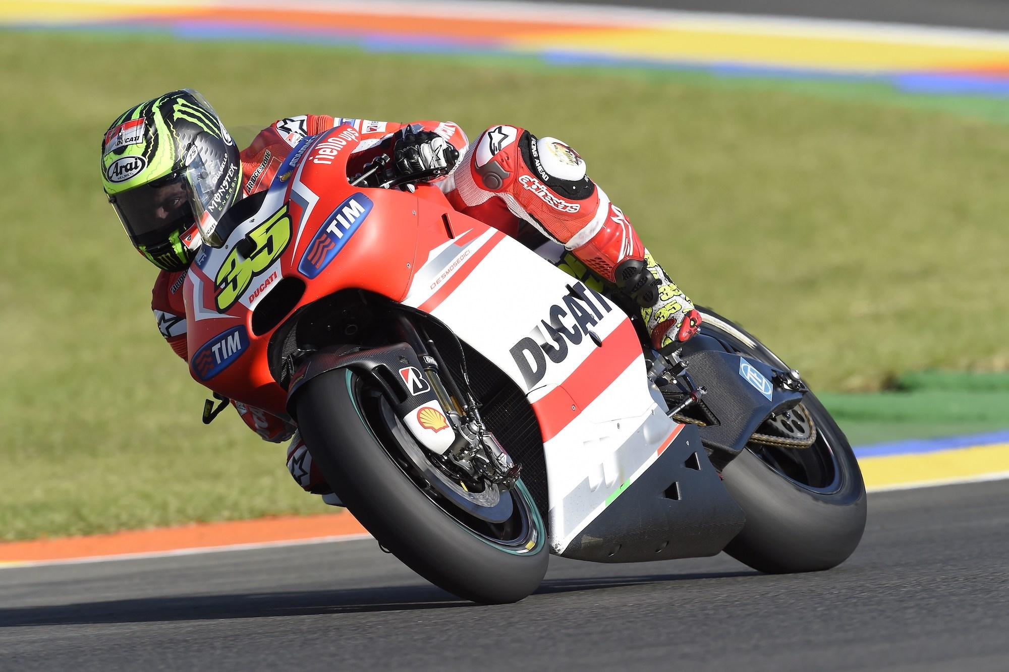 Cal Crutchlow na Ducati w 2014 roku
