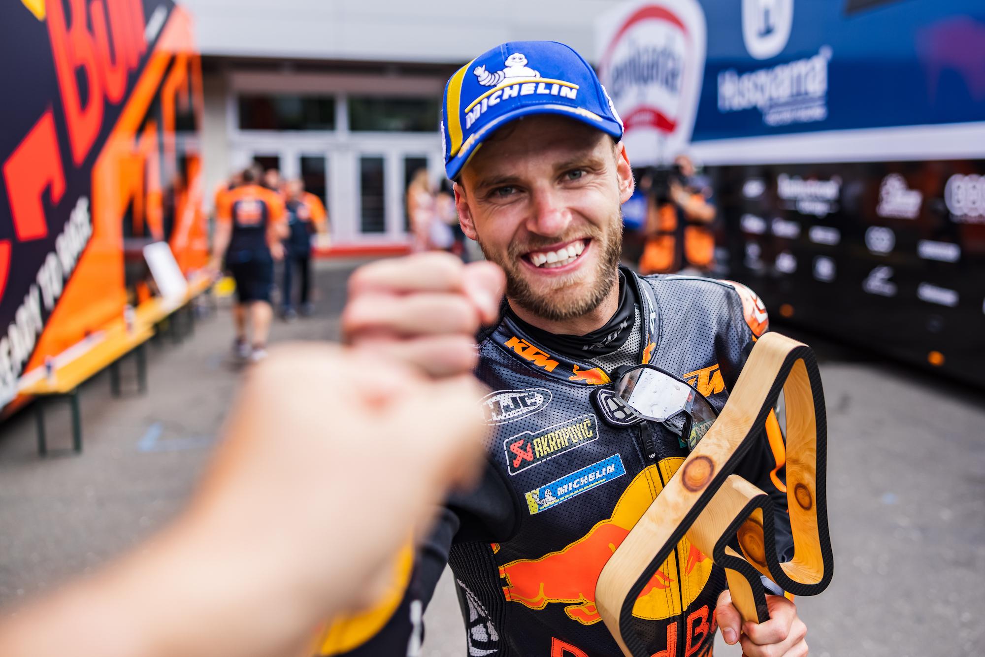 Brad Binder zwycięzcą GP Austrii 2021