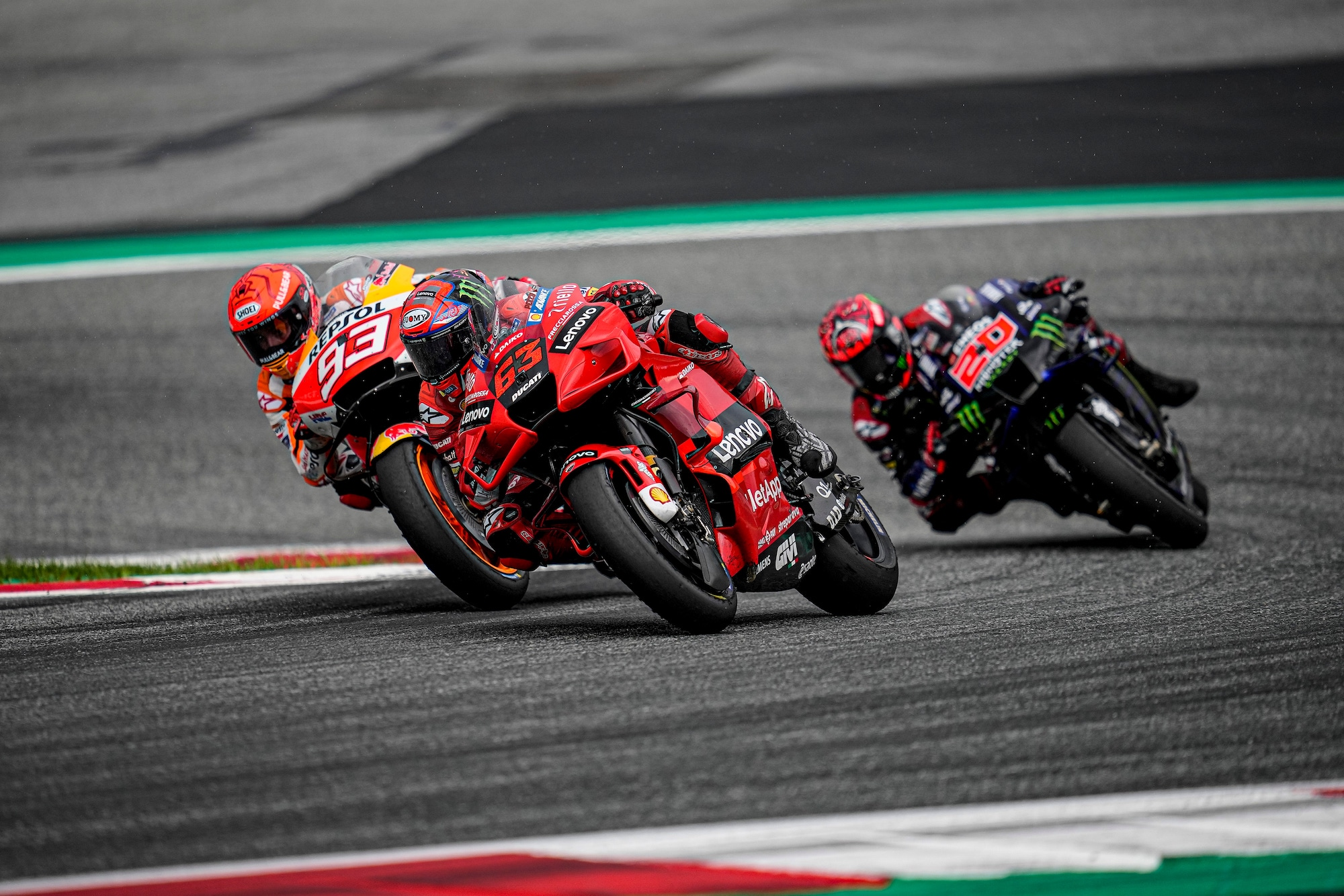 Pecco Bagnaia w GP Austrii 2021