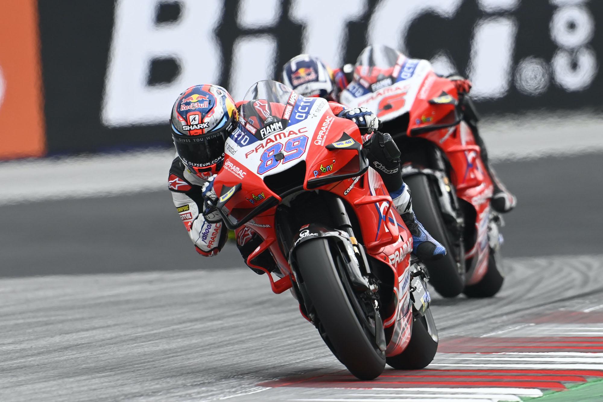 Jorge Martin w GP Austrii