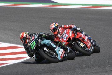Franco Morbidelli i Andrea Dovizioso