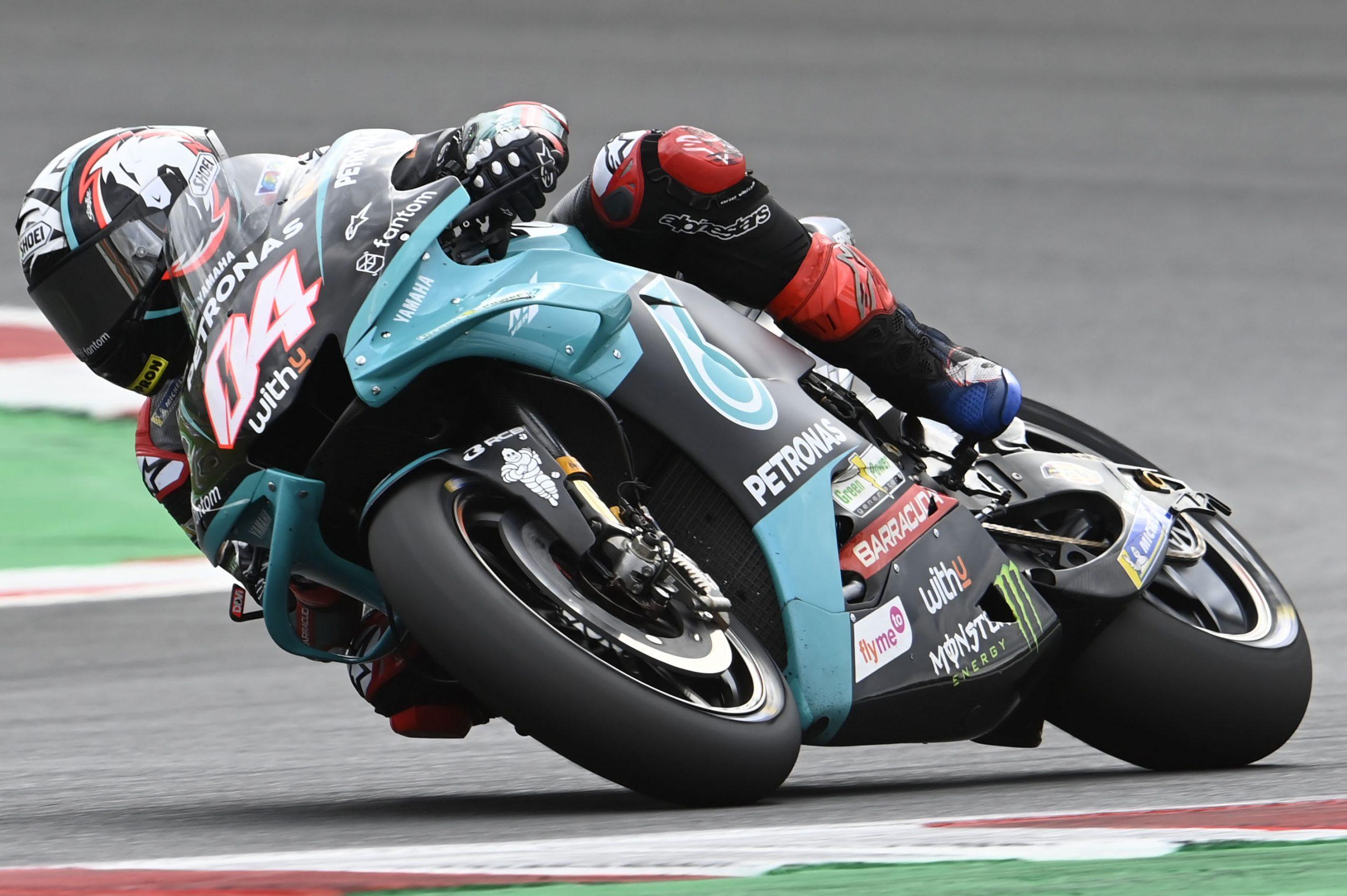 Andrea Dovizioso podczas GP San Marino 2021 w Misano