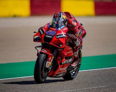 Jack Miller podczas GP Aragonii