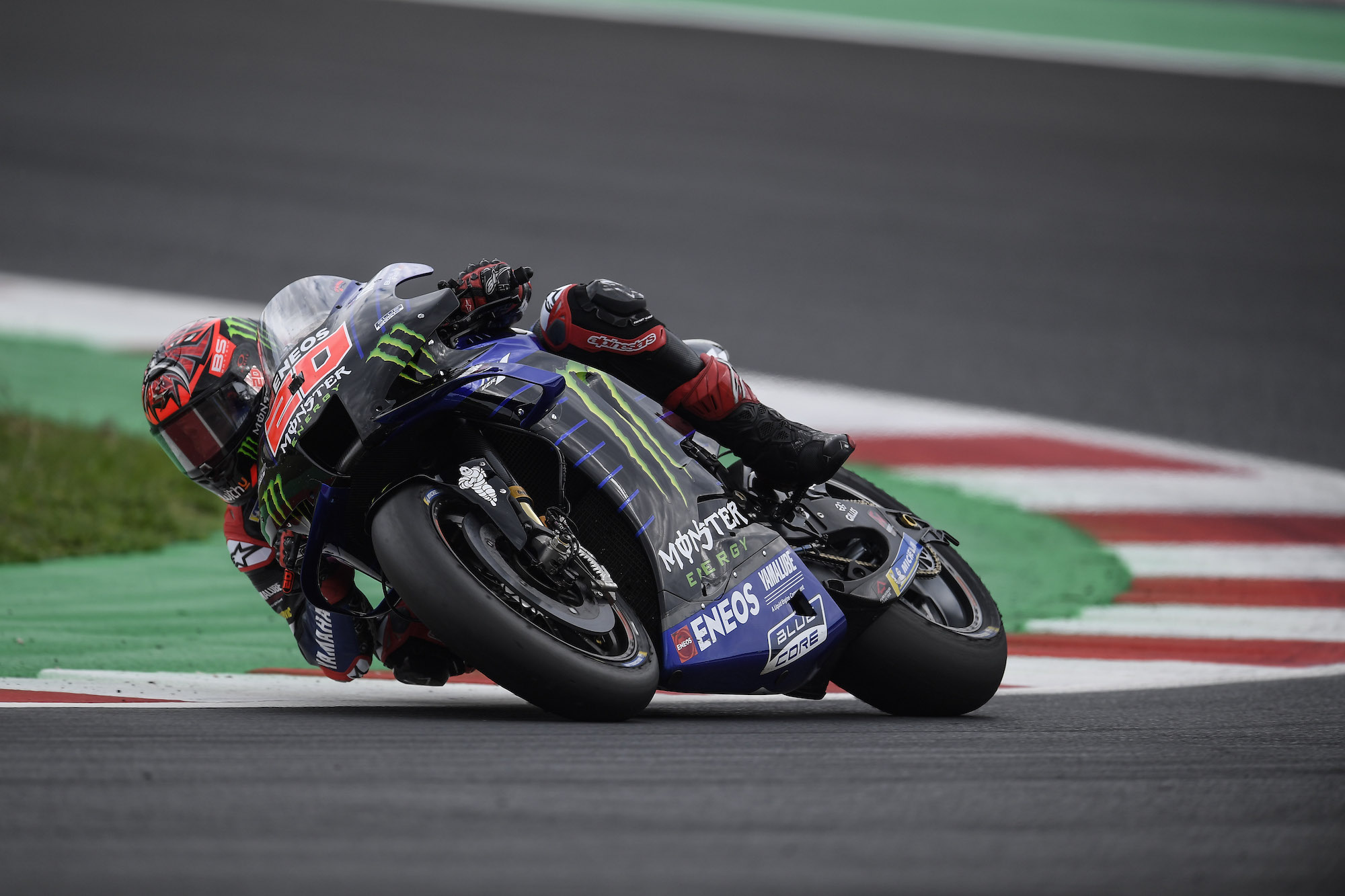 Fabio Quartararo podczas GP San Marino 2021 w Misano