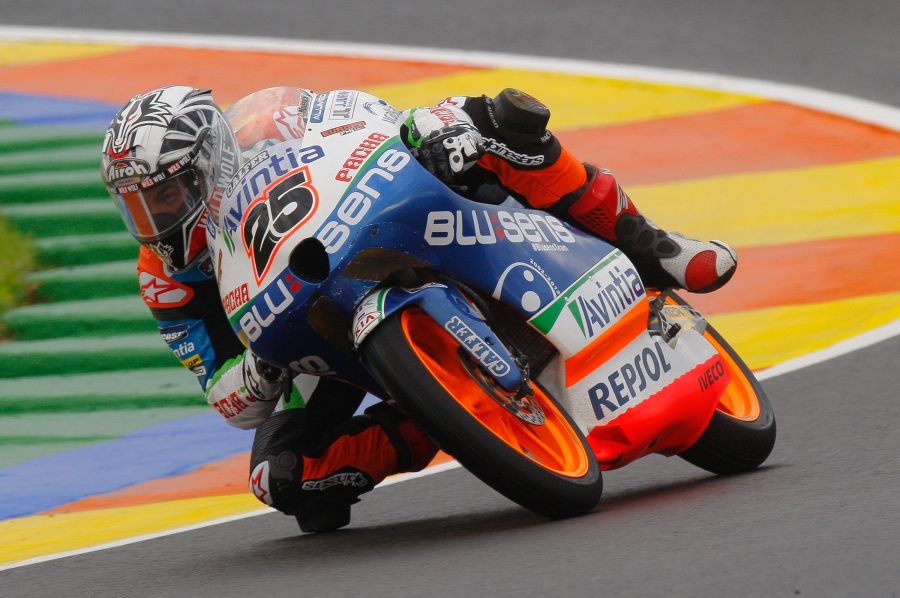 Maverick Vinales w sezonei 2012 Moto3 - Walencja
