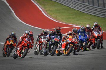 Start wyścigu MotoGP na COTA w Austin (Teksas, USA)
