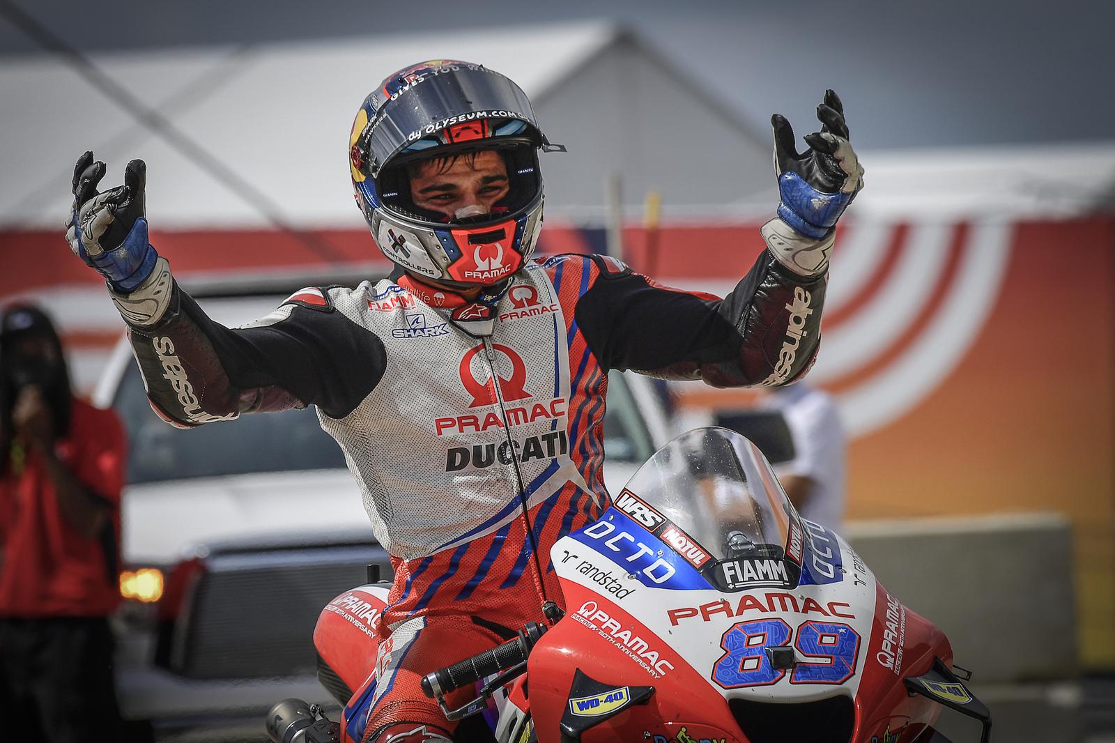 Jorge Martin podczas MotoGP na COTA w Austin (Teksas, USA)